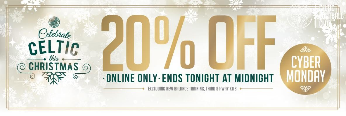 Take 20% off when you shop online – limited time offer