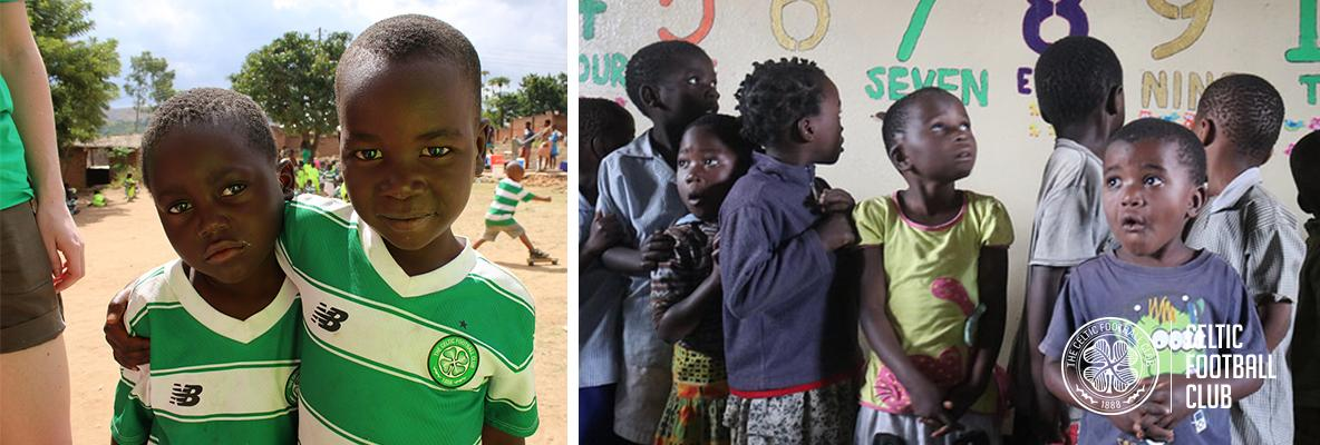 Sign up for Celtic FC Foundation's first ever Zambia volunteer trip