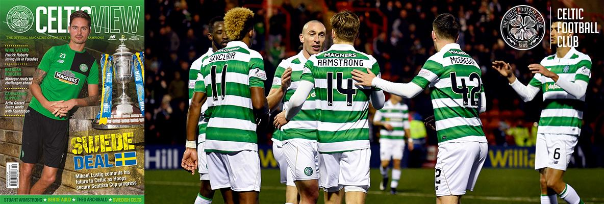 This week's Celtic View is back with the football action