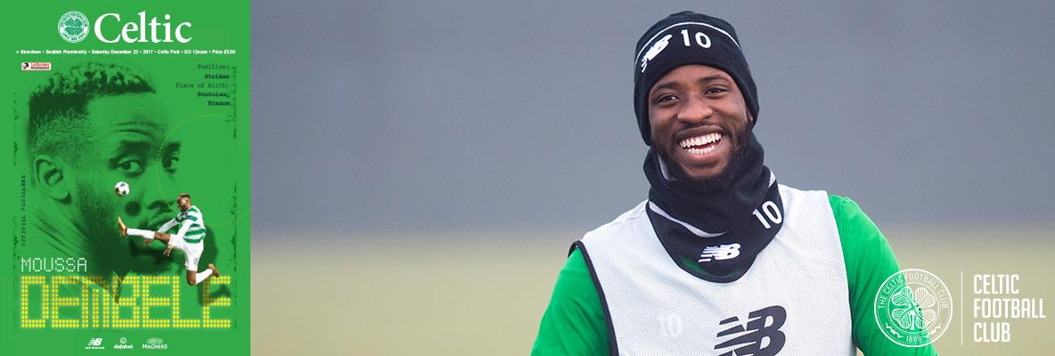 Moussa Dembele: Celts relishing a good battle with Aberdeen