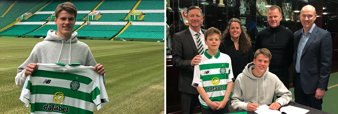 Celtic agree terms with talented young Norwegian defender