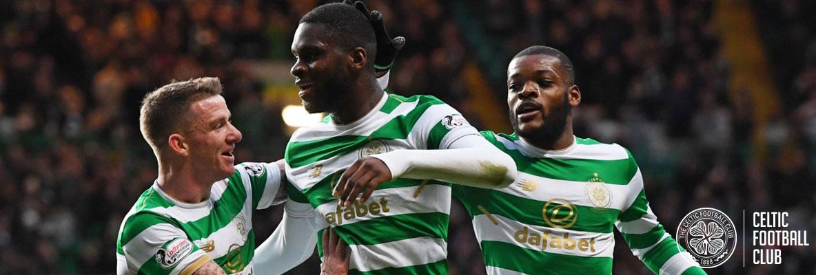 Edouard hits a hat-trick as super Celts make it 67 games unbeaten