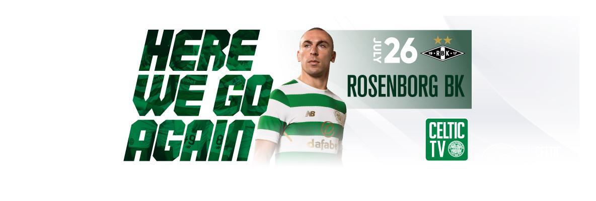 Celtic v Rosenborg on the Channel of the Champions