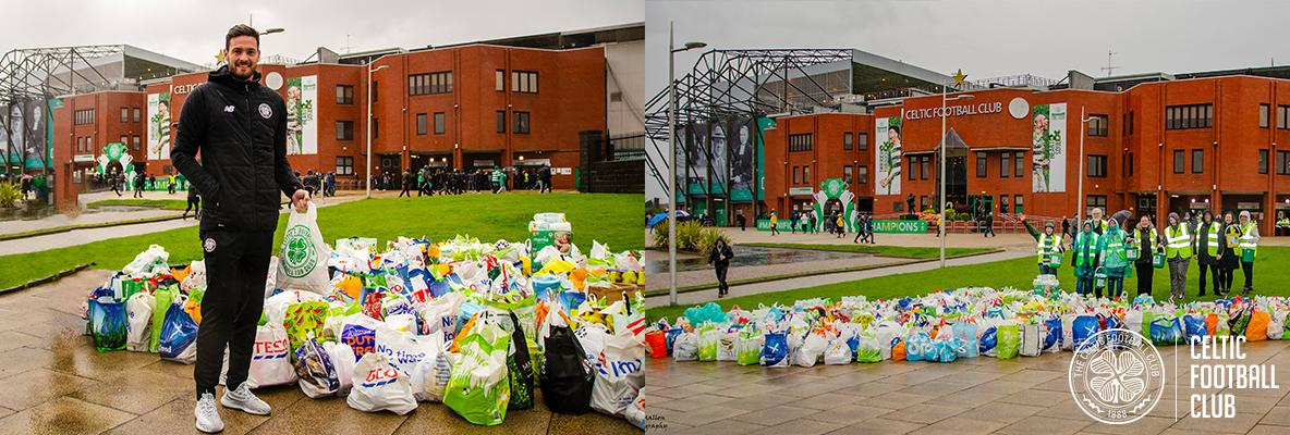 Pre-match Food collection anything but a wash-out against Killie