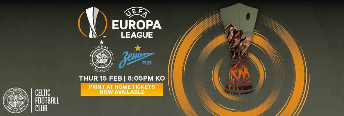 Beat the queues and print at home for FC Zenit
