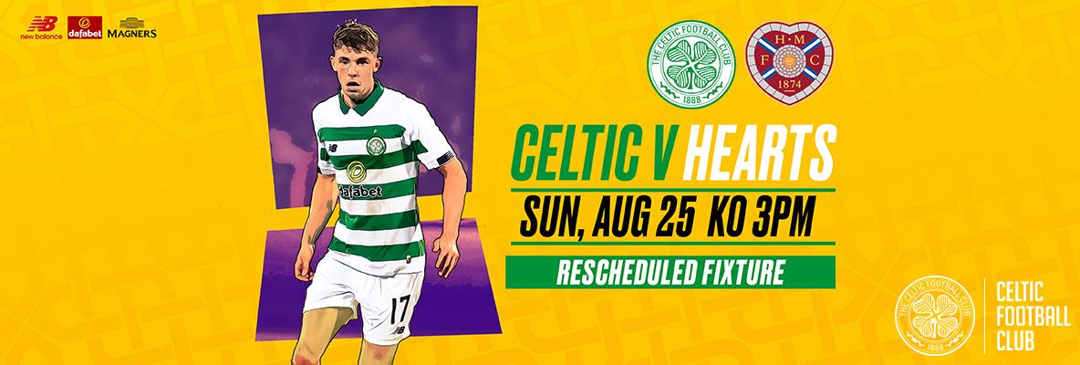 Time running out to secure your tickets for Celtic v Hearts