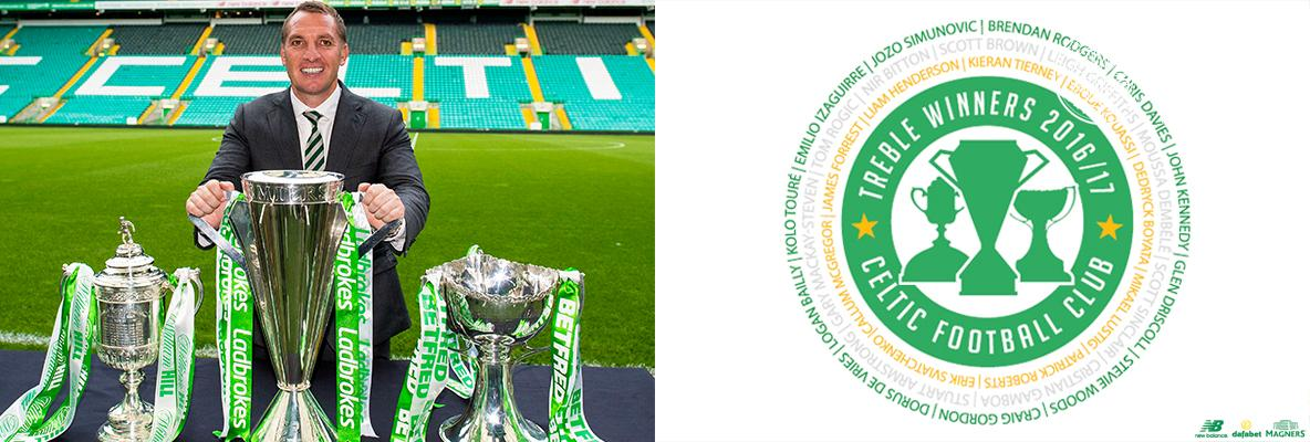 Treble Winners Badge (via Celticfc.net)