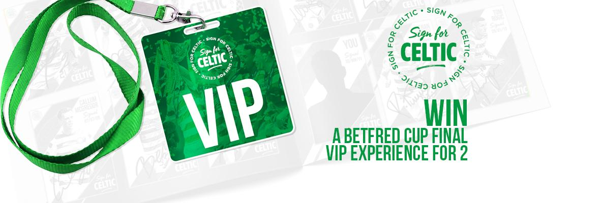 Win a Betfred League Cup final VIP experience for two