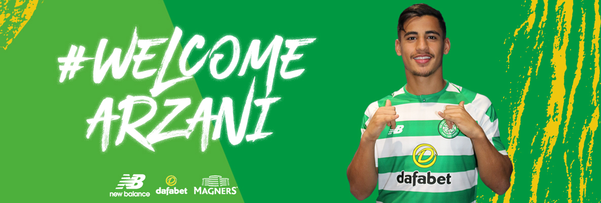 Daniel Arzani signs for Celtic on two-year loan deal