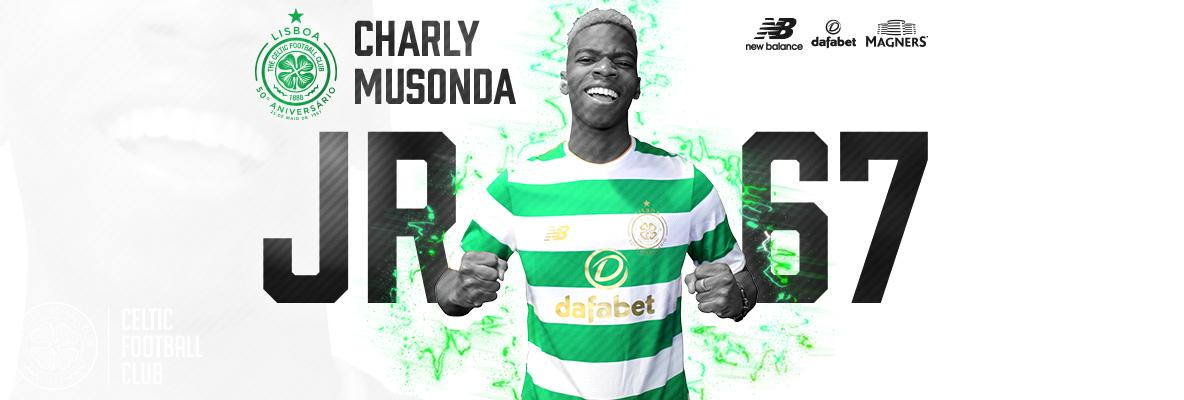 Celtic delighted to sign Charly Musonda on 18-month loan deal