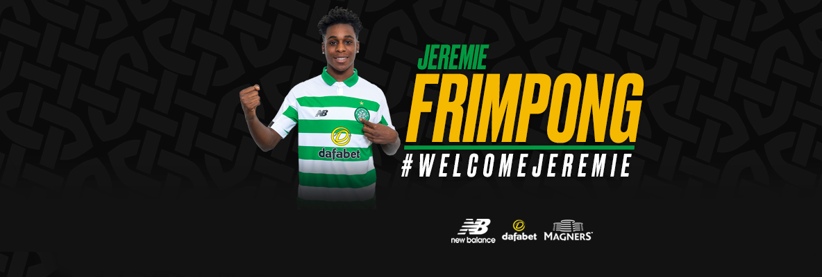 Celtic sign Jeremie Frimpong on four-year deal from Manchester City