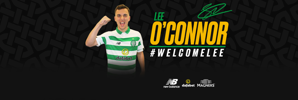 Lee O'Connor joins Celtic on four-year deal from Manchester United
