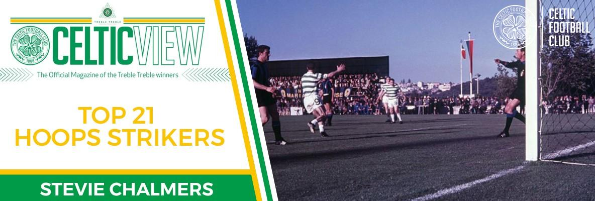 Celtic View celebrates our greatest goalscorers - Stevie Chalmers
