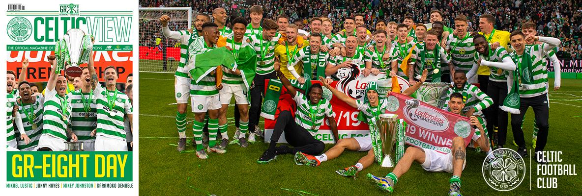 All the glory of Trophy Day in this week's eight-in-a-row Celtic View