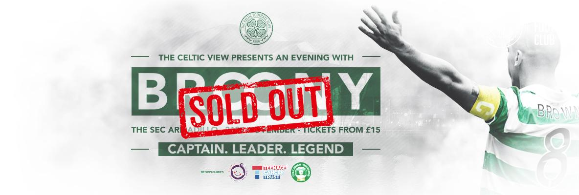 An evening with Broony at Glasgow's SEC Armadillo – SOLD OUT