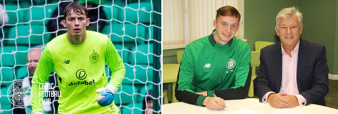 Conor Hazard signs new four-year contract with Celtic