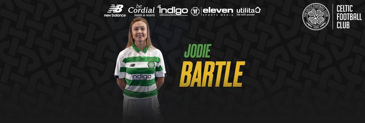 Defender Jodie Bartle joins Celtic for 2020 season