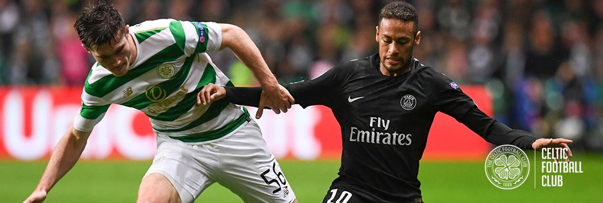 Manager praises Celtic youngster after Champions League bow