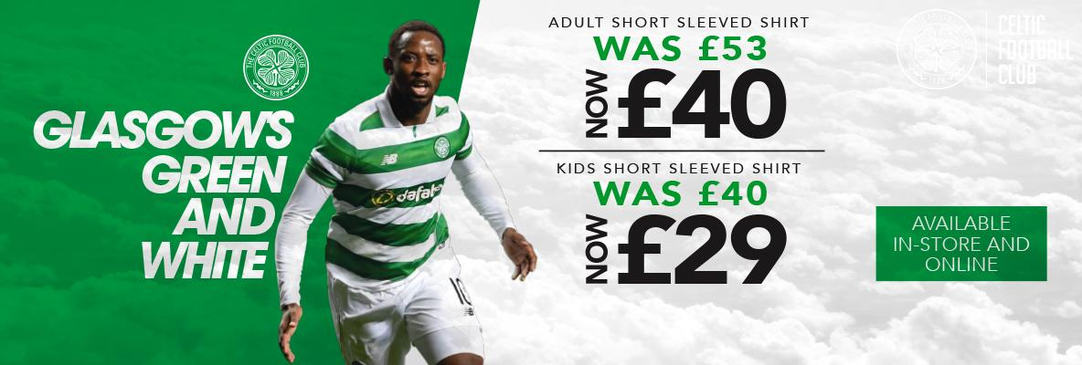 Get matchday ready with kit reductions in-store and online