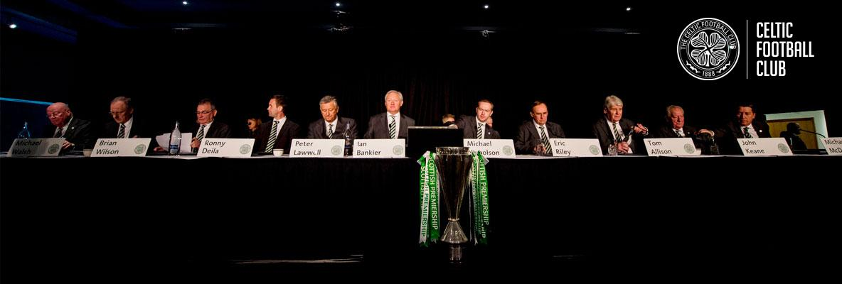 Club reflects on a positive year at AGM