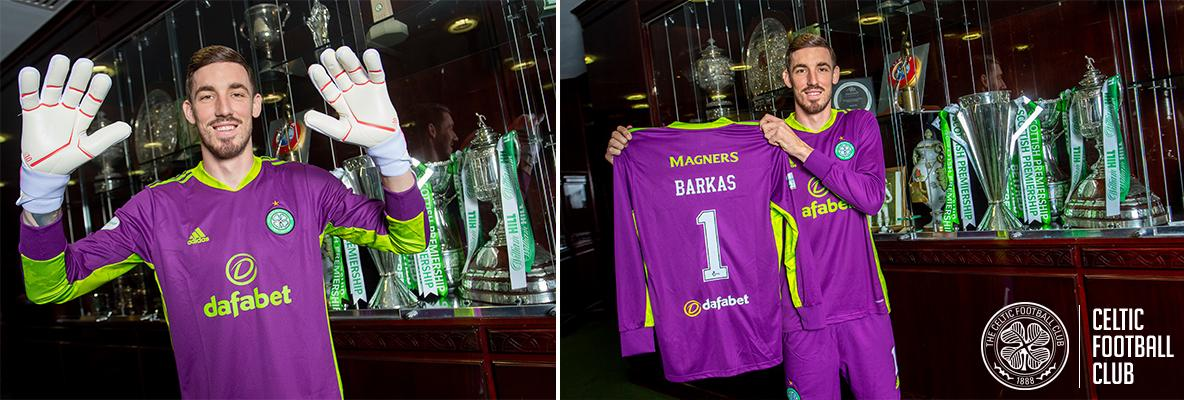 Celtic delighted to sign Vasilis Barkas on a four-year deal