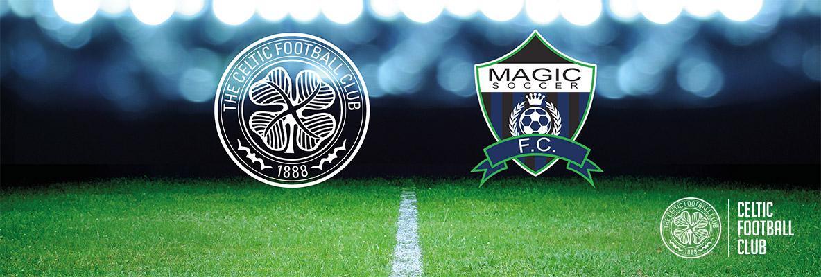 Magic Soccer FC join Celtic Soccer Academy Partnership Programme