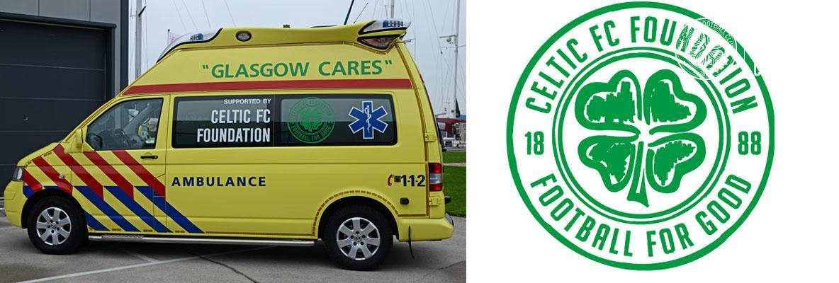 Celtic FC Foundation Refugee crisis ambulance arrives in Lesbos