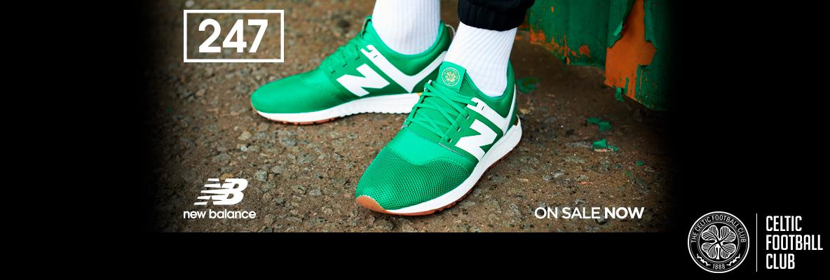 ad58f1930 Celtic FC x NB 247 – new limited edition trainers on sale now - Celtic ...