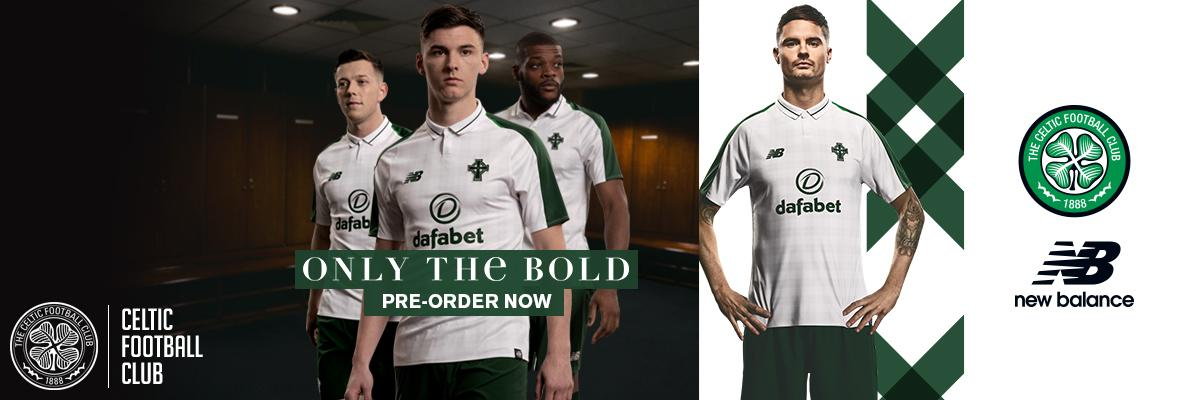 Celtic's  new 2018/19 New Balance away kit is officially revealed