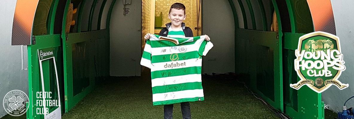 Congratulations John - a Young Hoops Club competition winner