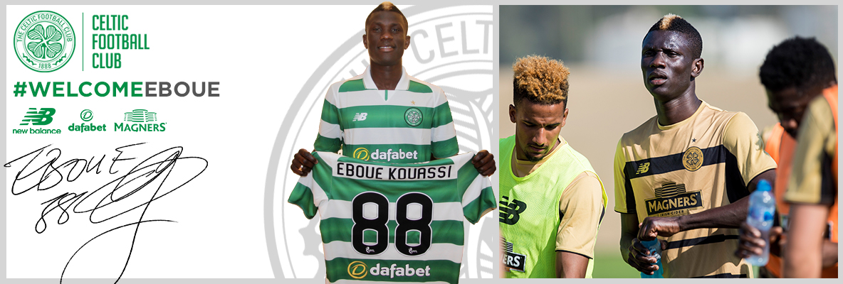 Celtic complete signing of Kouassi Eboue subject to visa