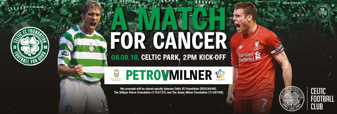 Tickets on sale for 'A Match For Cancer' charity game at Paradise