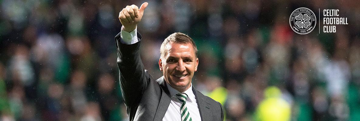 Brendan Rodgers: I couldn't be happier as Celtic manager