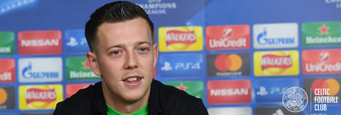 McGregor:  Celts want to stamp their authority on Anderlecht game