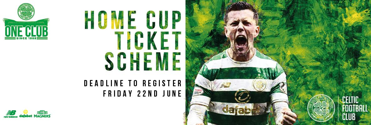Don't miss the deadline to join the Home Cup Ticket Scheme