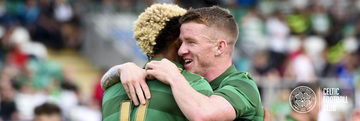 Manager hails free-scoring Celts after Dublin victory