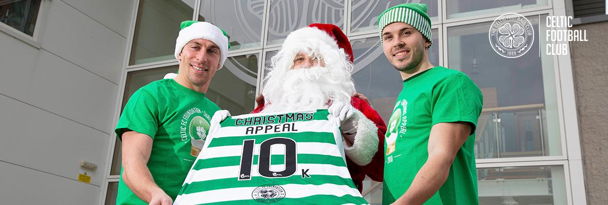 Celtic donates £10k as Foundation's Christmas Appeal is launched