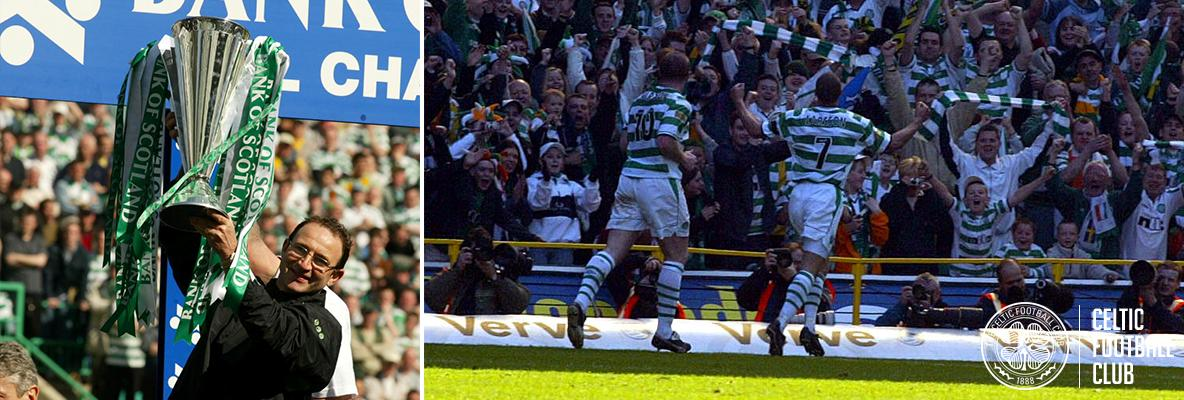 Martin O'Neill's five-star Celts sparked Paradise title party