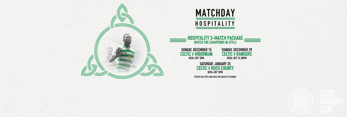 Secure derby seats with Kerrydale Experience three-match package