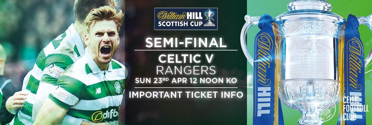 Scottish Cup semi-final ticket deadline reminder