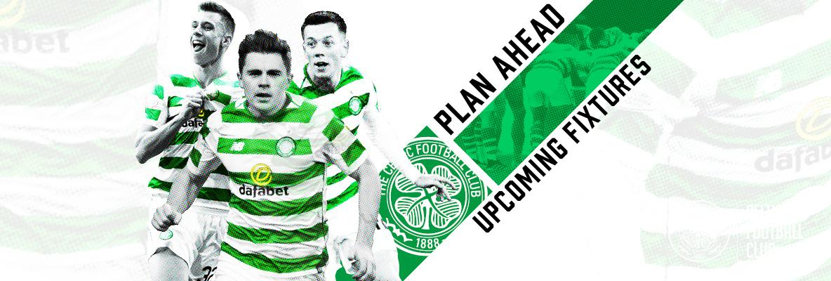 Plan ahead for upcoming fixtures