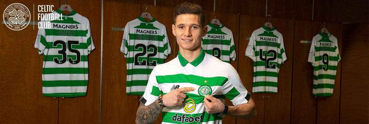 Patryk Klimala:Joining a massive club like Celtic is right move for me