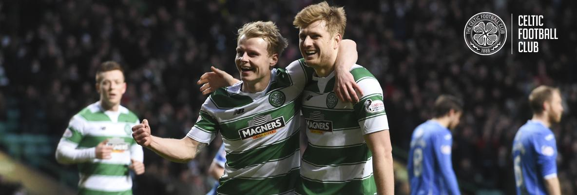 Mackay-Steven at the double as Celts sink Saints