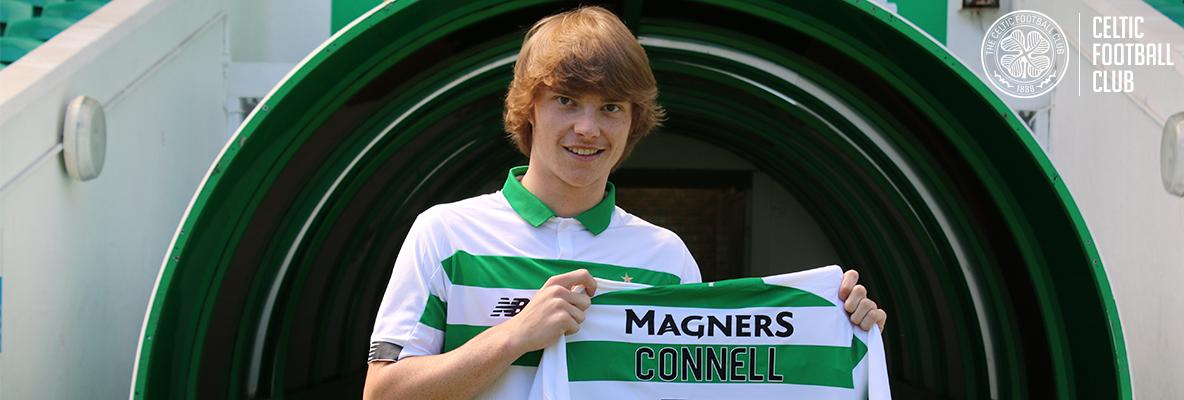 Luca Connell: I want to play my part in making more Celtic history