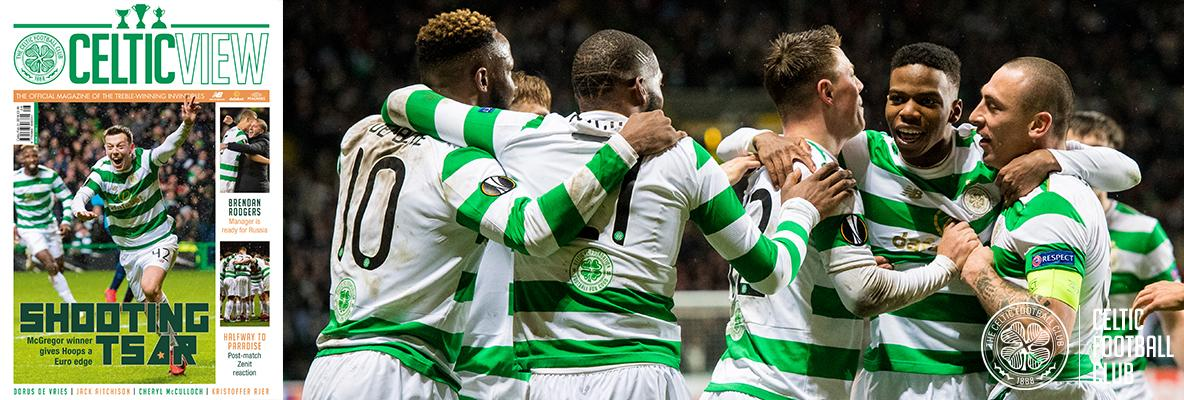 In this week's UEFA Europa League Celtic View