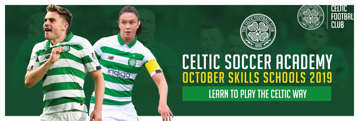 Book Now For Celtic Soccer Academy October Skills Schools