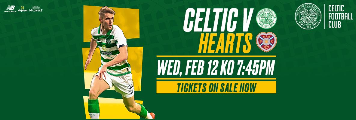 Buy online and print at home for Celtic v Hearts