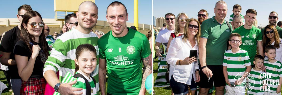 Delight in Dubai as supporters meet the champions