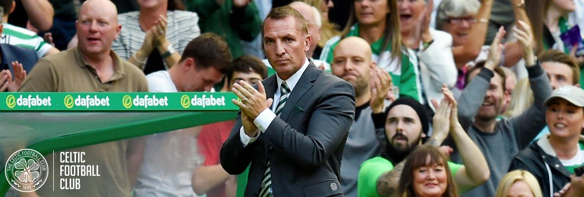 Manager proud of his players as Celtic march on in Europe