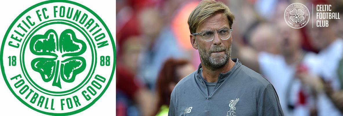 Jurgen Klopp: I'm looking forward to Celtic Park charity match